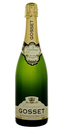 A bottle of Gosset Brut Excellence