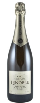 Lenoble Grand Cru Blanc de Blanc brings out flavors of dill and vanilla in seafood dishes and is one of GAYOT.com's Top 10 Value Champagnes