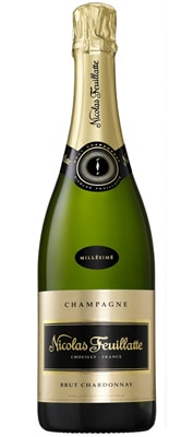 Champagne Nicolas Feuillatte 2005 Brut Chardonnay Vintage is blended from 70 different vineyard plots and aged for at least six years