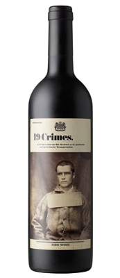 19 Crimes 2012 Red Wine is a Shiraz dominant blend from Australia