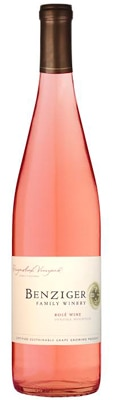 Benziger 2012 Dragonsleaf Vineyard Rose is composed of 54 percent Syrah and 46 percent Grenache
