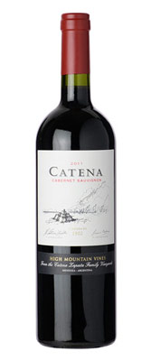 Catena 2011 Cabernet Sauvignon, one of GAYOT's Top 10 Value Wines