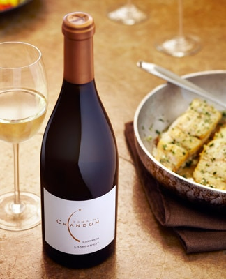 4,800 cases were produced of the Domaine Chandon 2010 Carneros Chardonnay