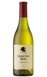 Dancing Bull 2008 Chardonnay, on our list of the Top Value Wines