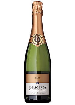 Deligeroy Cremant de Loire Brut, one of our Top Value Wines