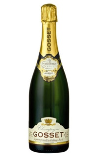Gosset Brut Excellence Champagne, on our list of the Top Value Wines