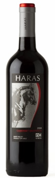 Haras 2008 Cabernet Sauvignon, one of our Top Value Wines