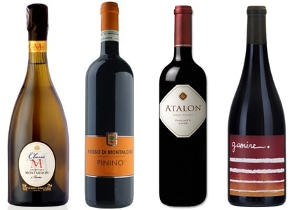 GAYOT's list of the Top 10 Value Wines features sparkling, red and white selections