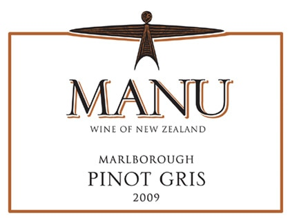 Manu 2009 Pinot Gris, one of our Top Value Wines