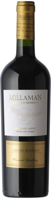 Millaman 2011 Limited Reserve Cabernet Sauvignon displays ripe blackberry and black cherry flavors with spice notes and firm tannins