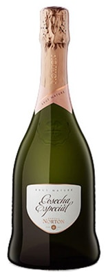 Bodega Norton Cosecha Especial Brut Nature is composed of 80 percent Chardonnay and 20 percent Pinot Noir