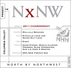 NxNW 2011 Horse Heaven Hills Chardonnay, one of our Top Value Wines