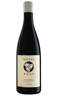 A bottle of Ravenswood 2005 Sonoma County Syrah