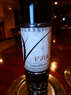 Rockbridge Vineyard 2008 V d'Or comes from Virginia's Shenandoah Valley appellation