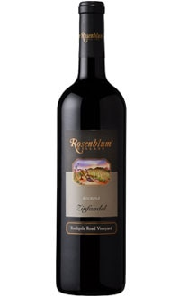 The Rosenblum Cellars 2008 Old Vine Zinfandel, on our list of the Top Value Wines