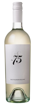 Tuck Beckstoffer 2012 Seventy Five Sauvignon Blanc boasts fresh peach and green apple flavors with a flinty minerality