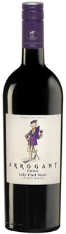 Arrogant Frog 2010 Lily Pad Noir is a fruit-forward red wine