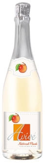 Avive Natural Peach Flavored Wine is made in Provence, France