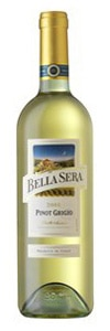A bottle of Bella Sera 2009 Veneto Pinot Grigio