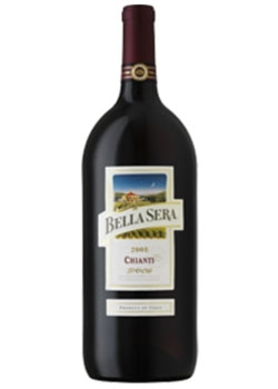 Bella Sera 2008 DOCG Chianti from Italy, on our list of Top Wines Under $10