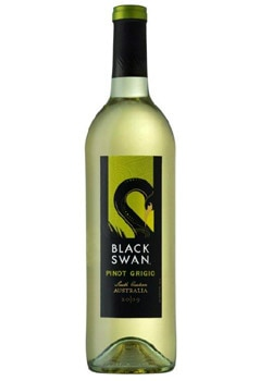 Black Swan 2009 South Eastern Australia Pinot Grigio, on our list of the Top Wines Under $10