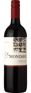CK Mondavi Scarlet Five has notes of blackberry and plum with caramel on the finish