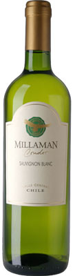 Millaman 2012 Condor Sauvignon Blanc is produced in Chile's Central Valley