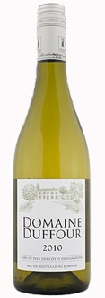 Domaine Duffour 2010 Blanc Sec, one of our Top Wines Under $10, is a crisp, clean white wine