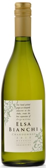 Valentin Bianchi 2011 Elsa Chardonnay, one of our Top Wines Under $10
