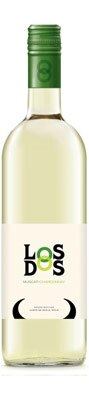 A blend of of 75 perecent Muscat and 25 percent Chardonnay, Los Dos 2013 White is one of GAYOT's Top 10 Wines Under $10