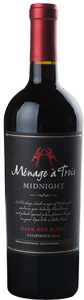 Ménage à Trois Midnight has flavors of black currant and spice