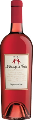Menage a Trois 2011 Rose offers a nice balance of sweetness and acidity