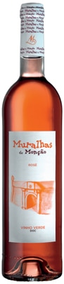 Muralhas de Moncao 2012 Rose is a blend of Alvarelhao, Pedral and Vinhao grapes