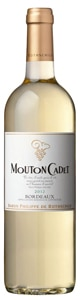 Mouton Cadet Blanc has flavors of grapefruit and white peach