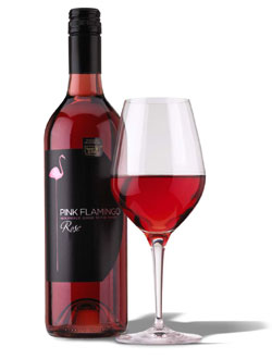 Pink Flamingo 2007 Rose wine