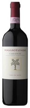 The Poggiotondo 2012 Cero del Masso Chianti combines Sangiovese, Merlot and Syrah for a rich, spicy wine