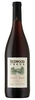 Redwood Creek 2009 Pinot Noir, one of our Top Wines Under $10