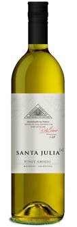 Santa Julia 2010 Pinot Grigio, one of our Top Wines Under $10, is from Mendoza, Argentina
