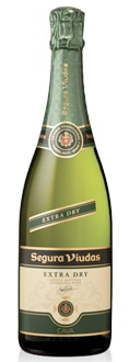 Segura Viudas Extra Dry is a classic Cava blend of Macabeo, Parellada and Xarel-lo grapes