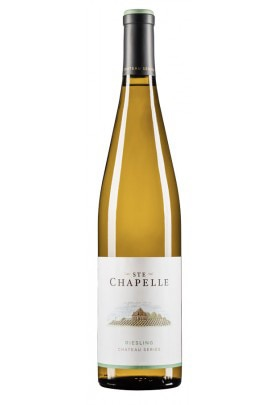 Ste Chapelle 2012 Chateau Series Riesling is made in a semi-sweet style that would pair well with spicy Asian cuisine