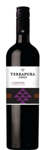 Terrapura Carménère has flavors of cherry, orange oil and hints of red bell pepper
