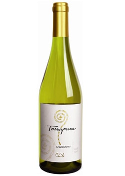 Terrapura 2008 Chardonnay from Chile, on our list of Top Wines Under $10
