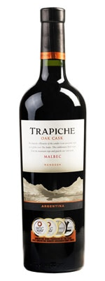 Trapiche 2012 Oak Cask Malbec is a perfect complement to cheese and chacuterie plates