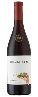 Turning Leaf NV Pinot Noir is an aromatic and approachable California wine