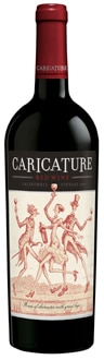 Caricature 2010 Red Blend is composed of 84 percent Cabernet Sauvignon and 16 percent Zinfandel