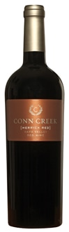 Conn Creek 2009 Napa Valley Herrick Red is composed of 70 percent Cabernet Sauvignon, 18 percent Syrah, 8 percent Malbec, 2 percent Merlot and 2 percent Primitivo