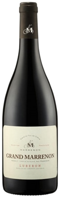 Grand Marrenon 2011 Red Luberon is composed of 70 percent Syrah and 30 percent Grenache