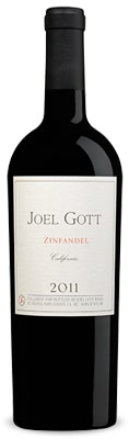 Joel Gott 2011 Zinfandel is sourced from California's North Coast, Central Valley and Sierra Foothills wine regions
