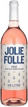 Hailing from Provence, France, Jolie Folle Rose Vin de Pays de Mediterranee offers a bright palate of strawberry and watermelon