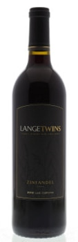 Aged in 100 percent American Oak, LangeTwins 2012 Zinfandel boasts dark berry flavors